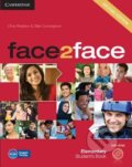 Face2Face: Elementary - Student's Book with DVD-ROM - Chris Redston, Gillie Cunningham