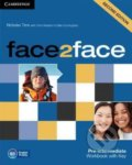 Face2Face: Pre-intermediate - Workbook with Key - Chris Redston, Gillie Cunningham