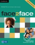 Face2Face: Intermediate - Workbook with Key - Nicholas Tims, Chris Redston, Gillie Cunningham