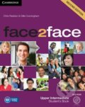Face2Face: Upper Intermediate - Student's Book with DVD-ROM - Chris Redston, Gillie Cunningham