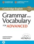 Grammar and Vocabulary for Advanced Book with... (Martin Hewings, Simon Haines) - Martin Hewings, Simon Haines