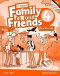 Family and Friends 4 - Workbook + Online Practice - Noami Simmons