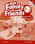 Family and Friends 2 - Workbook + Online Practice - Naomi Simmons
