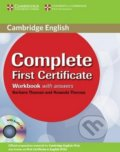 Complete First Certificate - Workbook with Answers - Amanda Thomas, Barbara Thomas