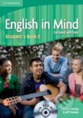 English in Mind 2: Student's Book with DVD-ROM - Herbert Puchta, Jeff Stranks