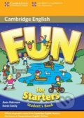 Fun for Starters - Student's Book - Anne Robinson, Karen Saxby