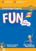 Fun for Starters - Teacher's Book - Anne Robinson, Karen Saxby
