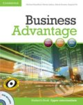 Business Advantage - Upper-intermediate - Student's Book - Michael Handford, Martin Lisboa, Almut Koester, Angela Pitt