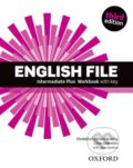 New English File - Intermediate Plus: Workbook with Key - Christina Latham-Koenig, Clive Oxenden, Jane Hudson