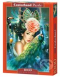 Lady with a Peacock -