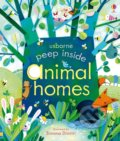 Animal homes - Anna Milbourne