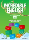 Incredible English 3 and 4: DVD Activity Book P - Shona Evans