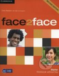 Face2Face: Starter - Workbook without Key - Gillie Cunningham, Chris Redston