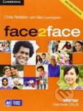 Face2Face: Starter - Class Audio CDs - Chris Redston, Gillie Cunningham