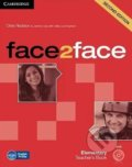 Face2Face: Elementary - Teacher's Book - Chris Redston, Jeremy Day, Gillie Cunningham