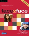 Face2Face: Elementary - Workbook without Key - Chris Redston, Gillie Cunningham