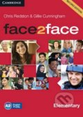 Face2Face: Elementary - Class Audio CDs - Chris Redston, Gillie Cunningham