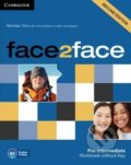 Face2Face: Pre-intermediate - Workbook without Key - Chris Redston, Nicholas Tims, Gillie Cunningham