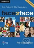 Face2Face: Pre-intermediate - Class Audio CDs - Gillie Cunningham, Chris Redston