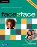 Face2Face: Intermediate - Workbook without Key - Nicholas Tims, Jan Bell, Gillie Cunningham