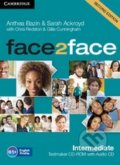 Face2Face: Intermediate - Testmaker CD-ROM and Audio CD - Anthea Bazin, Sarah Ackroyd, Chris Redston, Gillie Cunningham