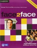 Face2Face: Upper Intermediate - Workbook without Key - Nicholas Tims, Jan Bell,Chris Redston, Gillie Cunningham