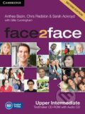 Face2Face: Upper intermediate - Testmaker CD-ROM and Audio CD - Anthea Bazin, Sarah Ackroyd, Chris Redston, Gillie Cunningham