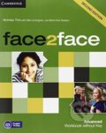 Face2Face: Advanced - Workbook without Key - Gillie Cunningham, Nicholas Tims