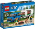 LEGO City Great Vehicles 60117 Dodávka a karavan -