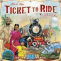 Ticket to Ride Map Collection: India & Switzerland - Alan R. Moon, Ian Vincent