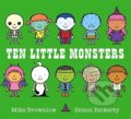 Ten Little Monsters - Mike Brownlow, Simon Rickerty