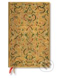 Paperblanks - diár Gold Inlay 2017 -