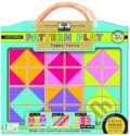 Green Start Pattern Play Wooden Puzzles Topsy Turvy -