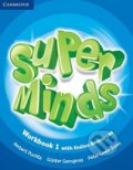 Super Minds - 1 Workbook  + Online - Herbert Puchta, Günter Gerngross, Peter Lewis-Jones