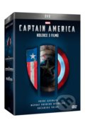 Captain America trilogie 1.-3. - Joe Johnston, Anthony Russo, Joe Russo,