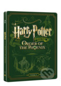 Harry Potter a Fénixův řád Steelbook - David Yates