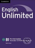 English Unlimited - Pre-intermediate - Testmaker CD-ROM with Audio CD - Mark Lloyd