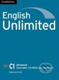 English Unlimited - Advanced - Testmaker CD-ROM with Audio CD - Sarah Ackroyd