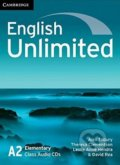 English Unlimited - Elementary - Class Audio CDs - Alex Tilbury, Theresa Clementson, Leslie Anne Hendra, David Rea