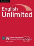English Unlimited - Upper-Intermediate - Testmaker CD-ROM with Audio CD - Sarah Ackroyd