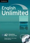 English Unlimited - Elementary - Self-study Pack - Maggie Baigent, Chris Cavey, Nick Robinson