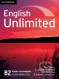 English Unlimited - Upper-Intermediate - Class Audio CDs - Alex Tilbury, Leslie Anne Hendra a kol.