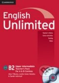 English Unlimited - Upper Intermediate - A and B Teacher's Pack - Alex Tilbury, Leslie Anne Hendra, Sarah Ackroyd
