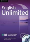 English Unlimited - Pre-intermediate - Self-study Pack - Maggie Baigent, Chris Cavey, Nick Robinson