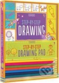 Step-By-Step Drawing Pad - Fiona Watt, Candice Whatmore (Ilustrátor)