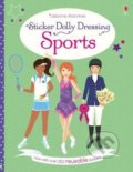 Sticker Dolly Dressing: Sports - Fiona Watt, Vicky Arrowsmith (ilustrácie)