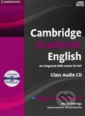 Cambridge Academic English B2: Upper Intermediate - Class Audio CD and DVD Pack - Martin Hewings