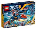 LEGO Nexo Knights 70351 Clayov letún Falcon Fighter Blaster -