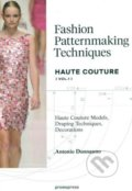 Fashion Patternmaking Techniques 1 - Antonio Donnanno