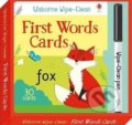 Wipe-Clean First Words Cards - Felicity Brooks